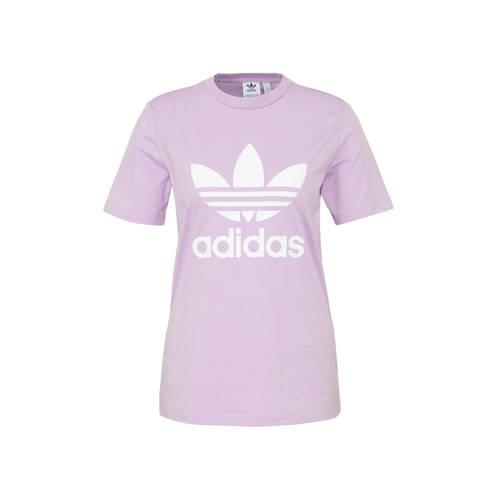 adidas originals T-shirt paars