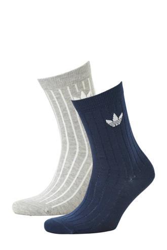 originals   sokken (set van 2) donkerblauw/grijs