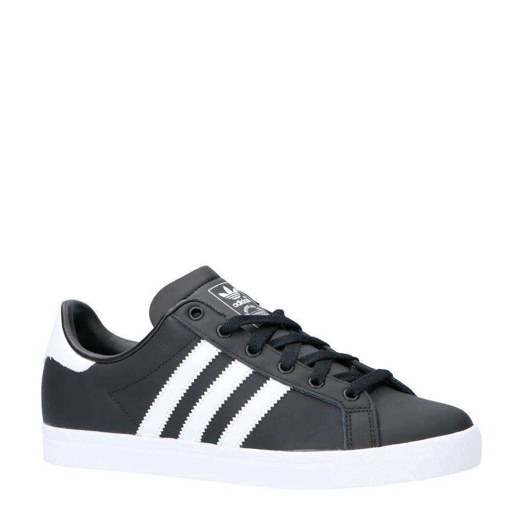 133a03a2c31 adidas originals Coast Star sneakers zwart/wit, Mat zwart