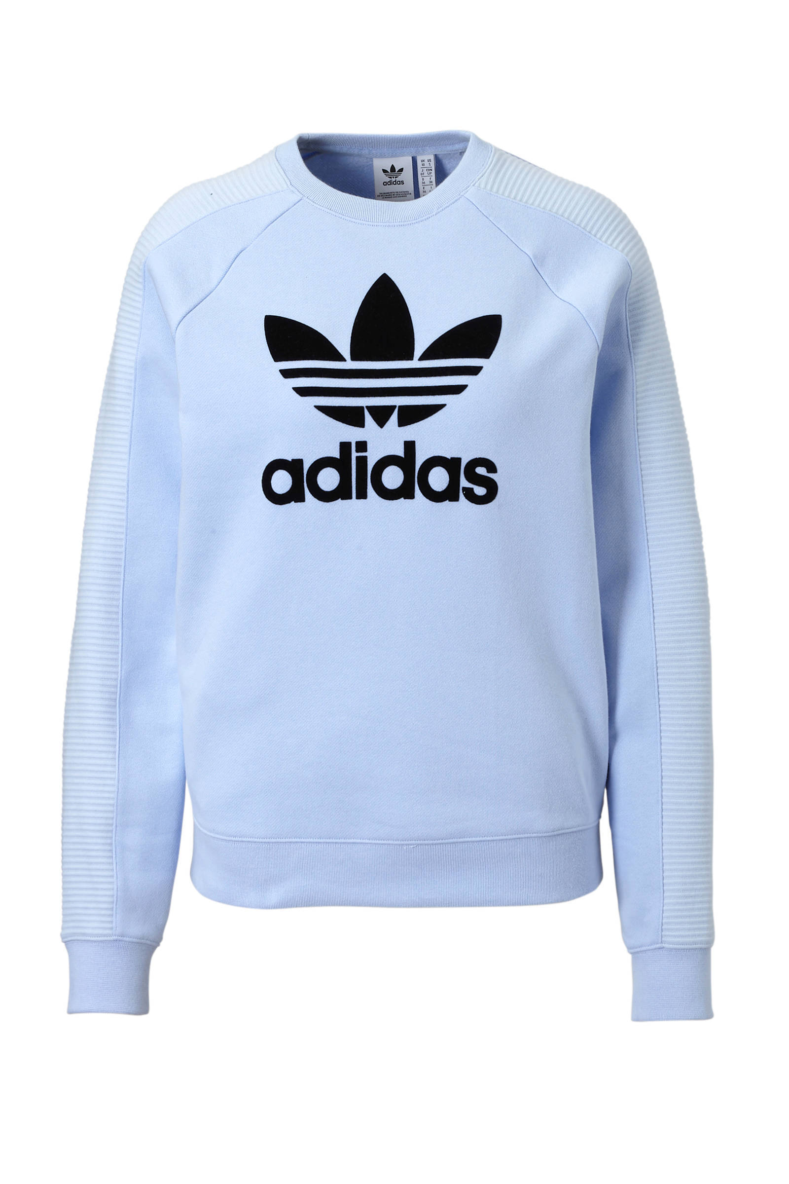 adidas Originals sweater lila | wehkamp