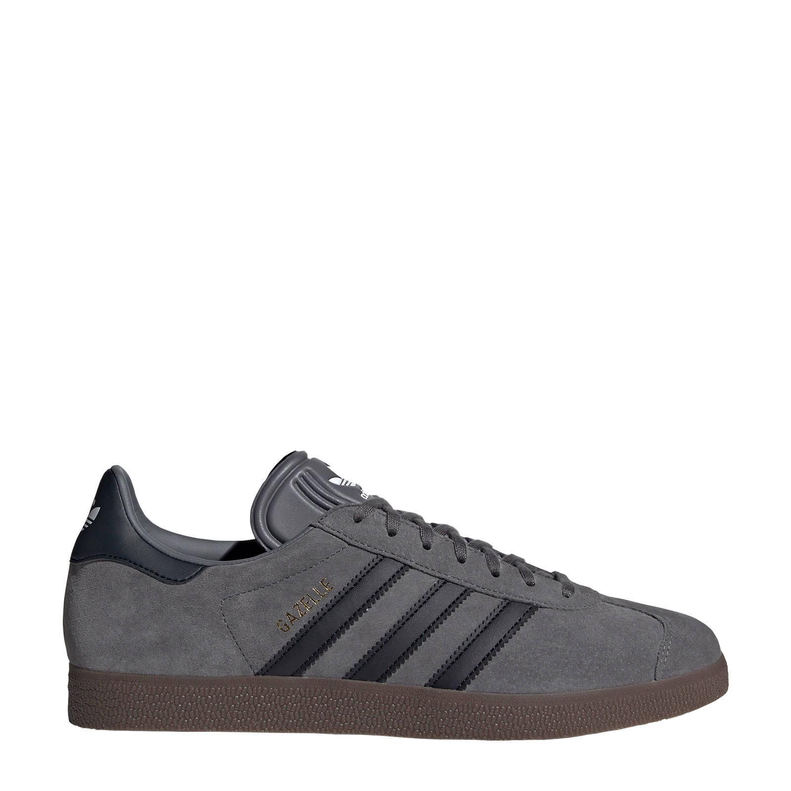 adidas Originals Gazelle sneakers grijs   wehkamp