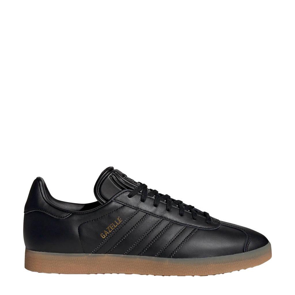 adidas originals Gazelle  sneakers zwart, Zwart/lichtbruin