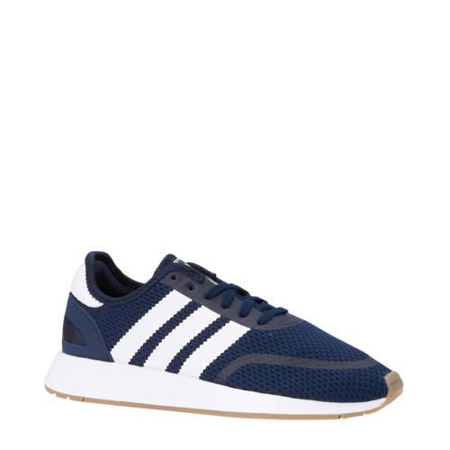 adidas originals N-5923 J sneakers donkerblauw-wit