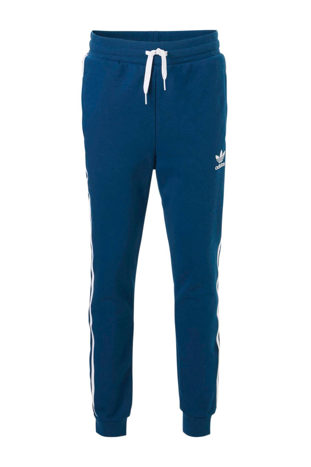 adidas originals   joggingbroek blauw, Blauw/wit