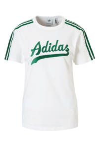 adidas / adidas originals T-shirt wit/groen