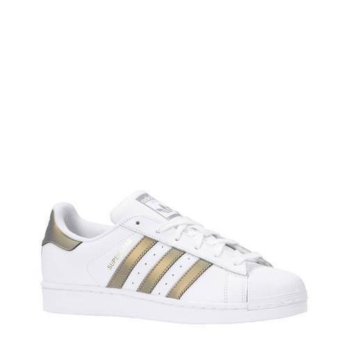 Superstar sneakers wit-brons