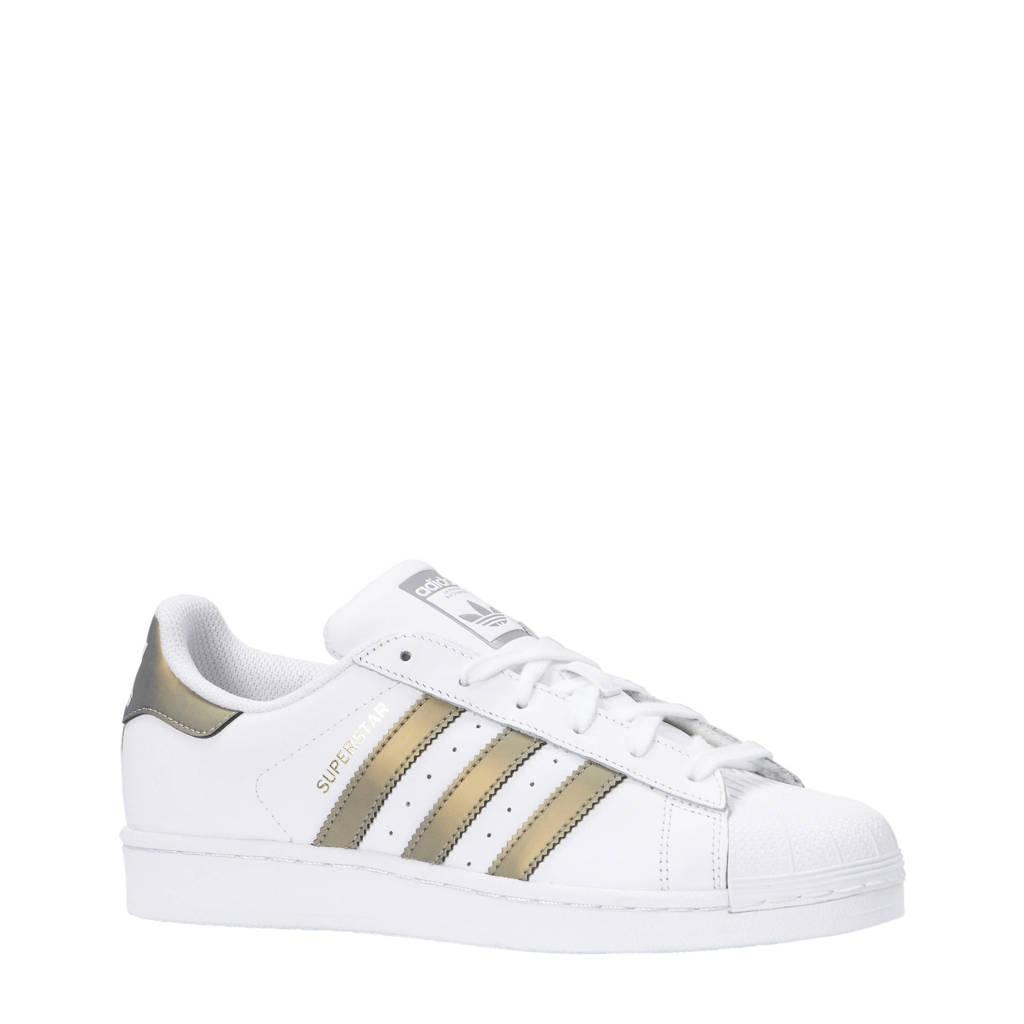 adidas originals  Superstar sneakers wit/brons, Wit/brons
