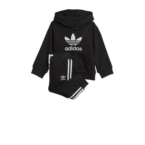 adidas originals trainingspak zwart