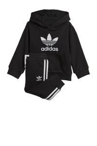 adidas Originals   trainingspak zwart, Zwart/wit