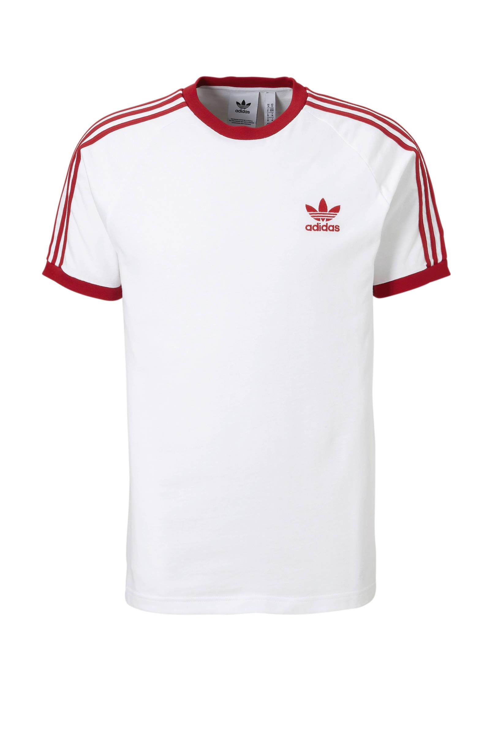 adidas Originals T shirt wit | wehkamp