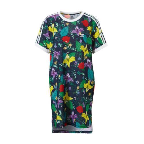 adidas originals jurk bloemenprint