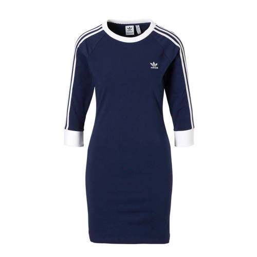 adidas originals jurk donkerblauw
