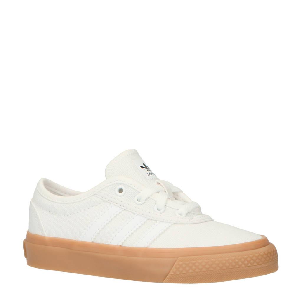 adidas originals  Adi-Ease J sneakers wit, Wit/bruin