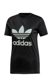 adidas originals T-shirt zwart (dames)