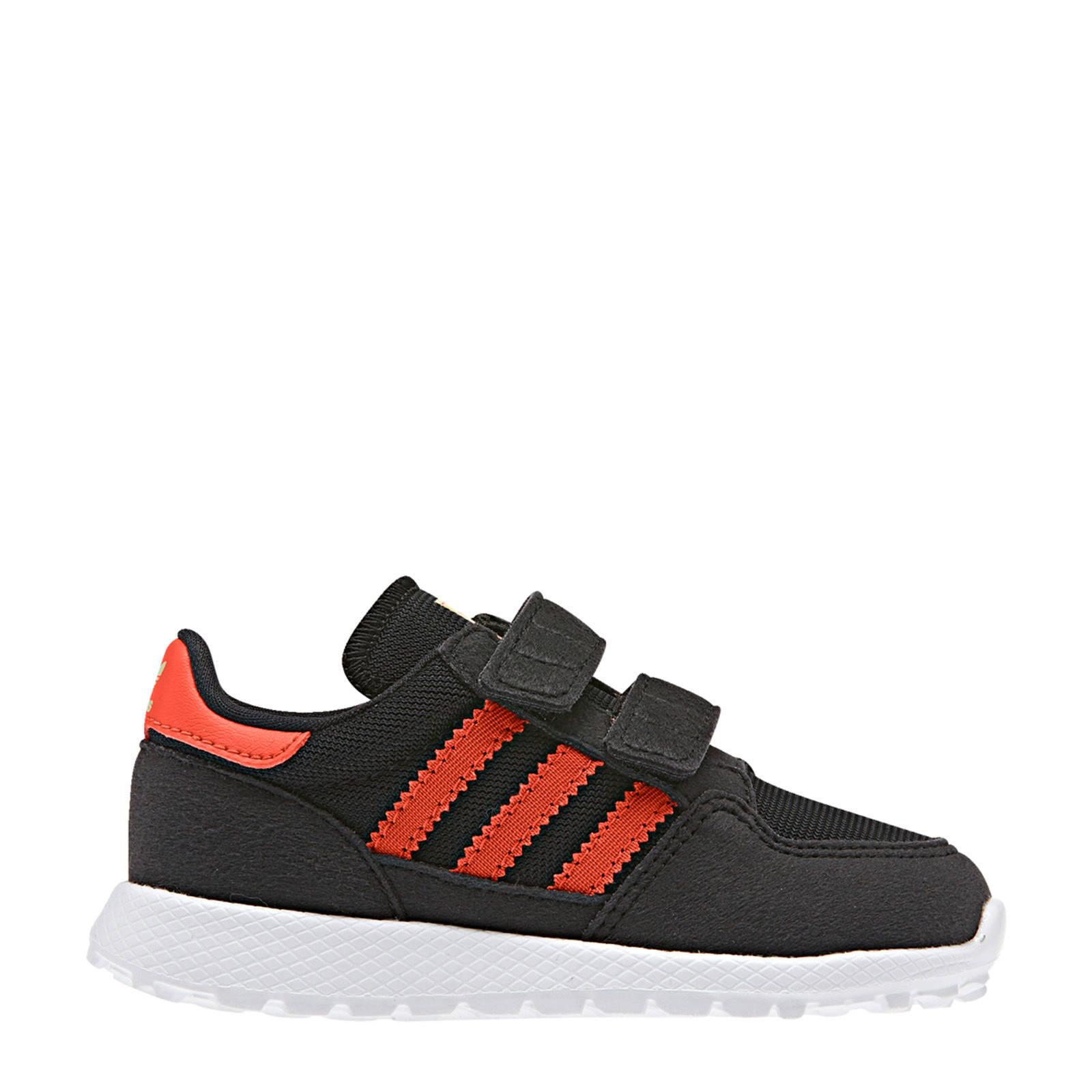 Forest Grove CF I suède sneakers zwart