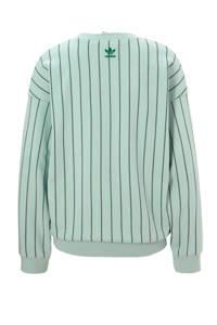 adidas Originals sweater mintgroen, Mintgroen/groen