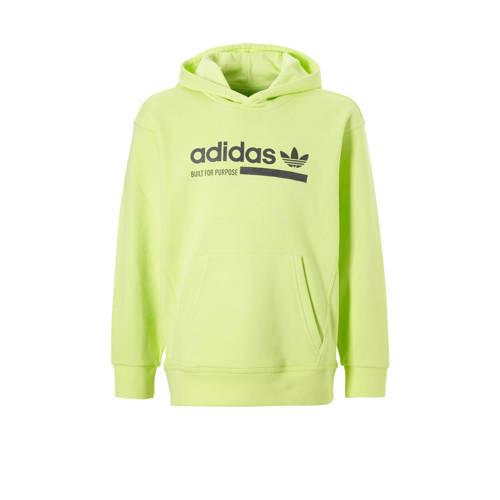 adidas originals hoodie geel