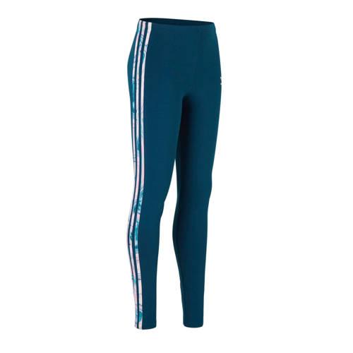 adidas originals legging donkerblauw