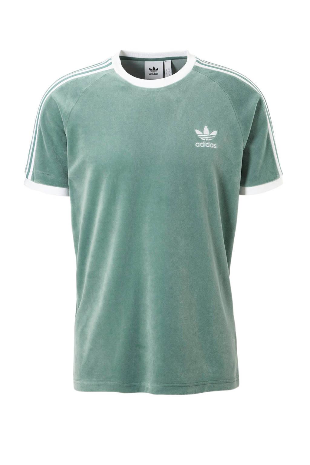 adidas originals   T-shirt mintgroen, Mintgroen