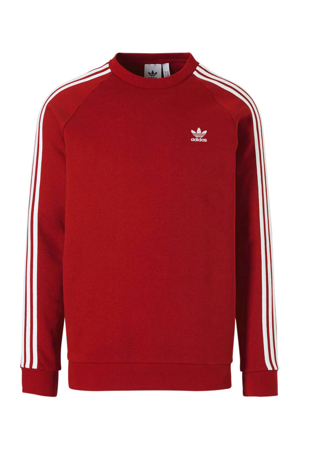 adidas originals   sweater rood, Rood/wit