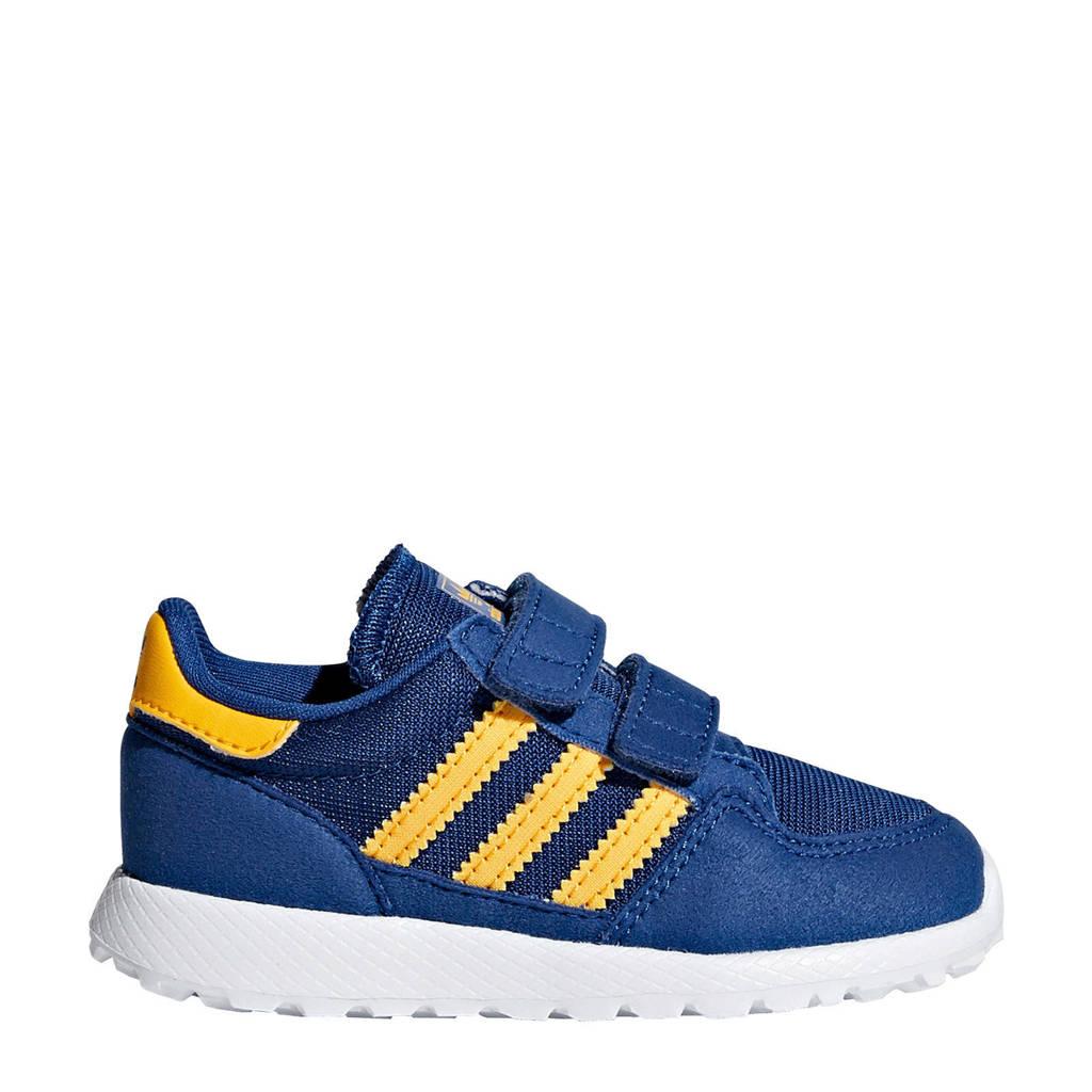 adidas originals  Forest Grove CF I suède sneakers blauw, Blauw/geel