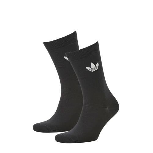 adidas originals sokken (set van 2) zwart