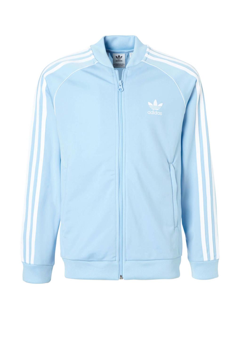 aa2cd9bcb9b adidas originals vest lichtblauw, Lichtblauw