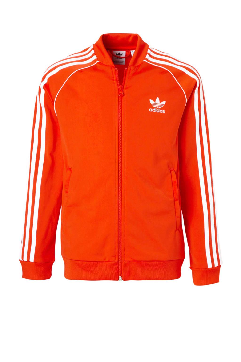 621986f5e72 adidas originals vest oranje | wehkamp