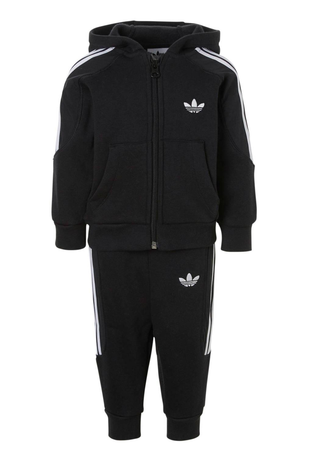 adidas originals   sportvest zwart, Zwart