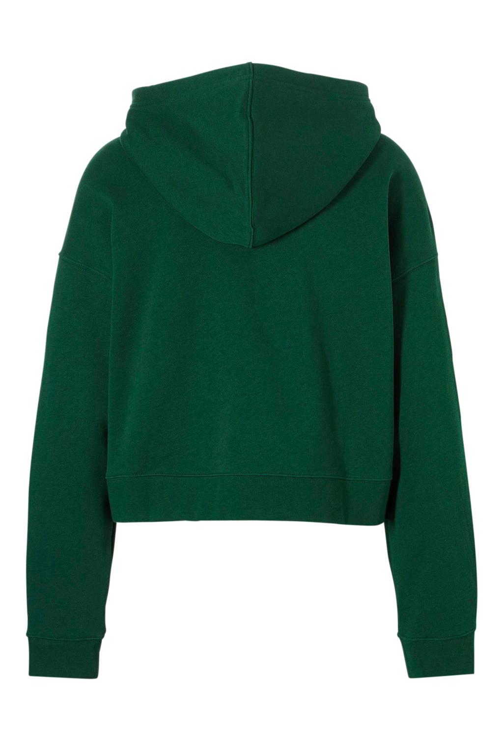 adidas originals hoodie groen, Groen/wit
