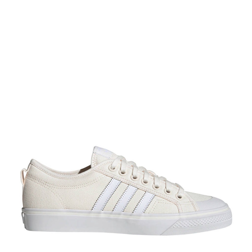 adidas originals   Nizza sneakers, Ecru/wit