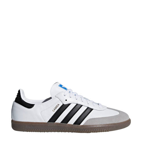 adidas originals Samba OG sneakers wit-zwart