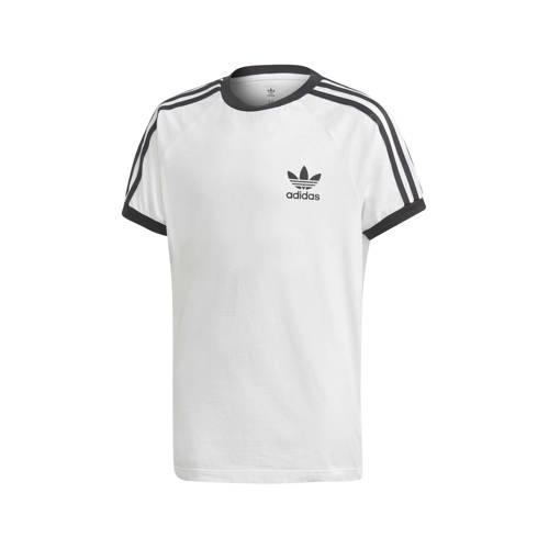 adidas originals originals sport T-shirt wit