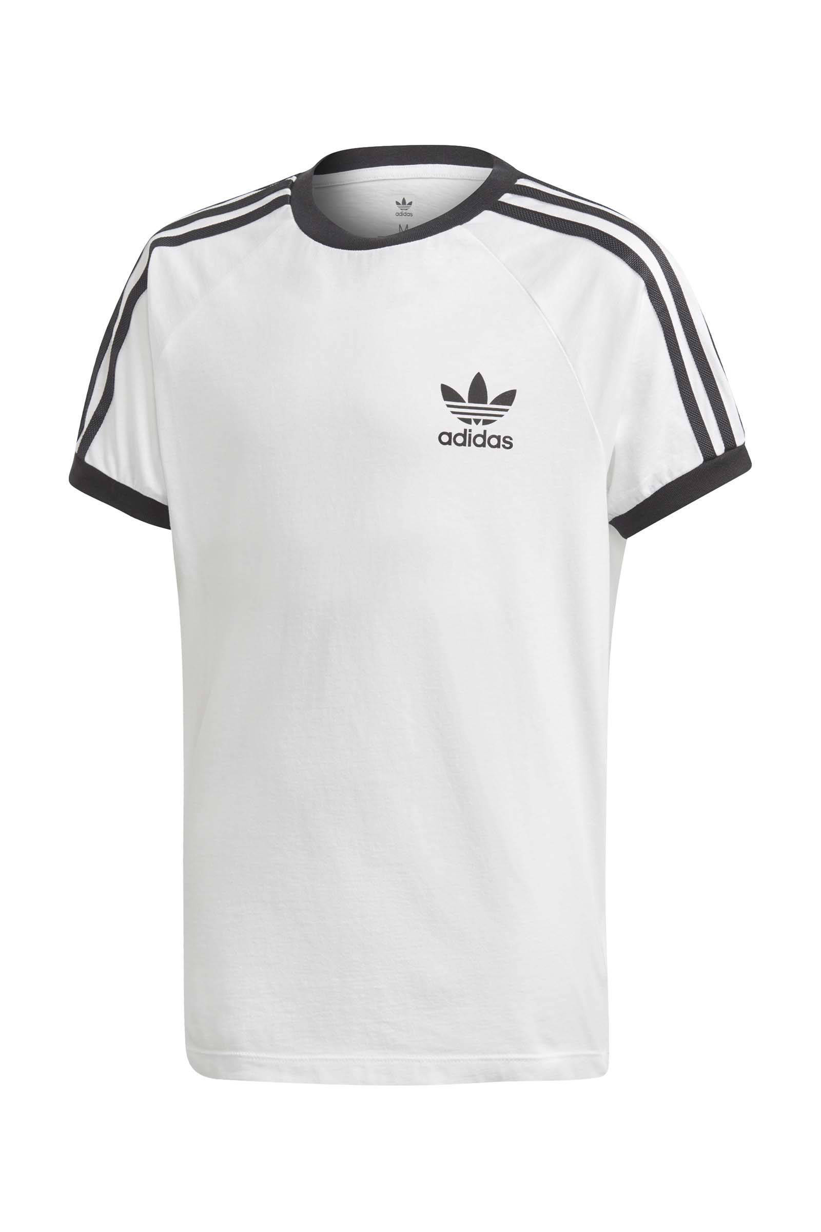 Adicolor sport T-shirt wit