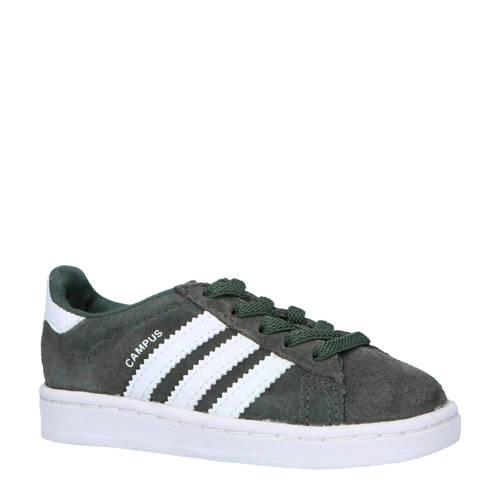 adidas originals Campus EL sneakers grijs-wit
