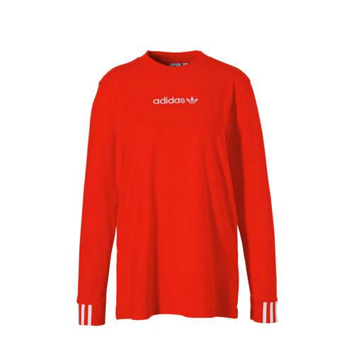 adidas originals T-shirt rood
