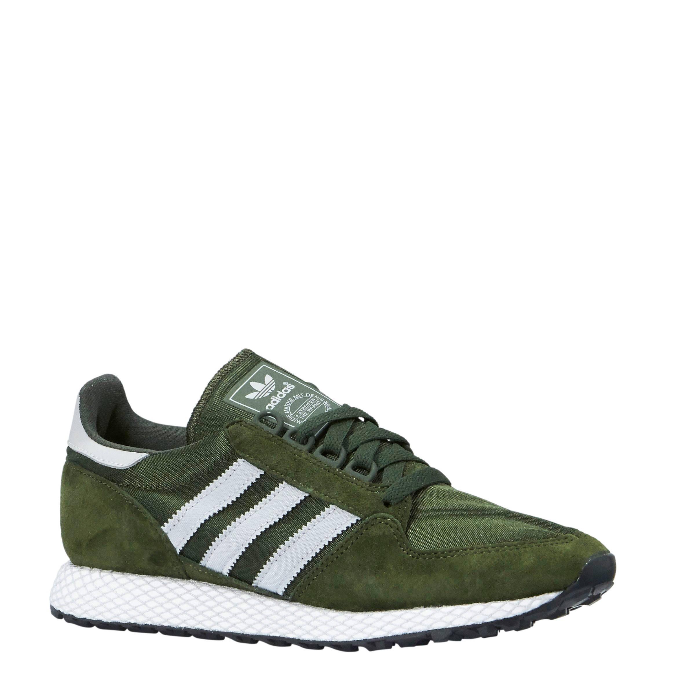 adidas schoenen donkergroen