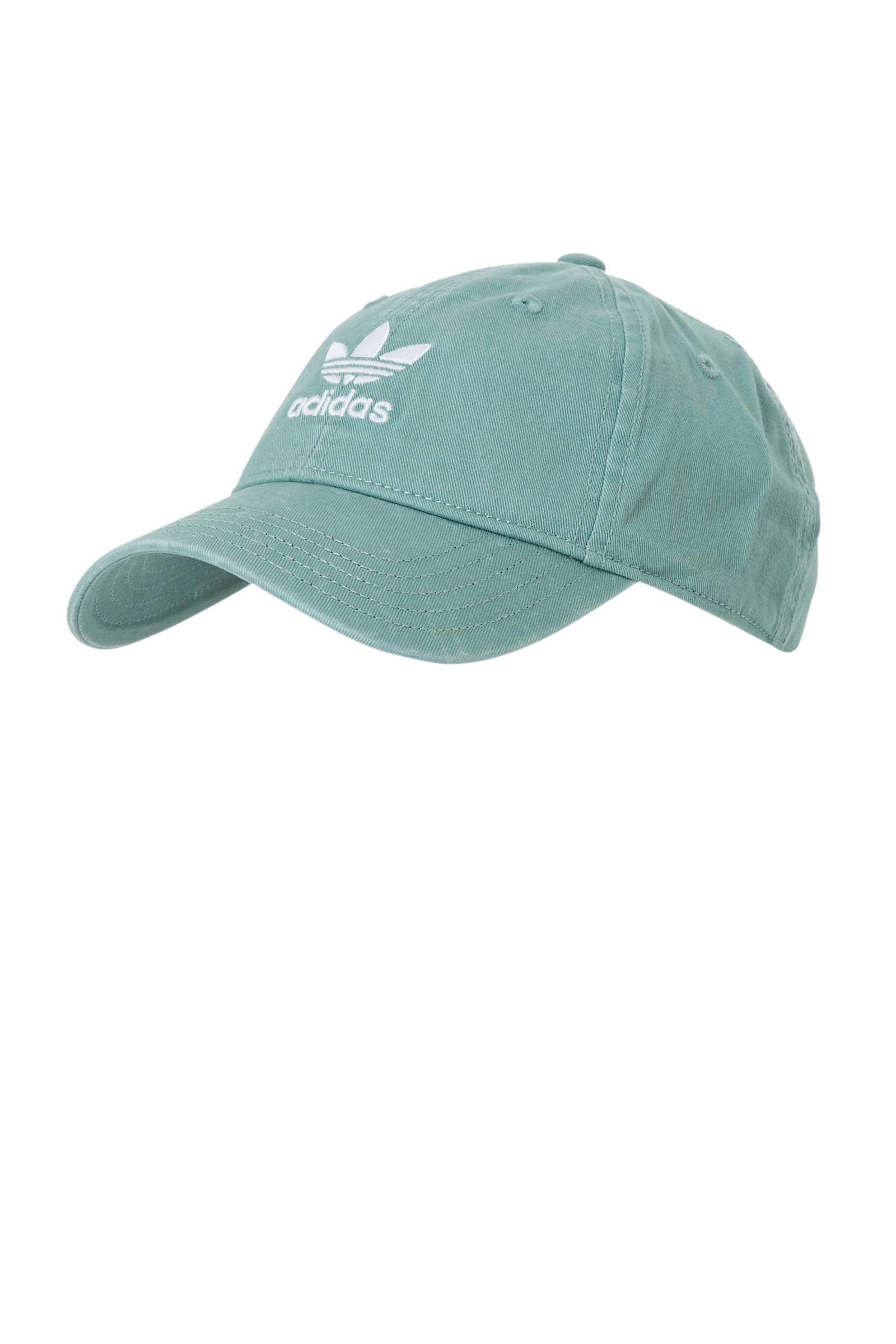 Adic washed cap groen