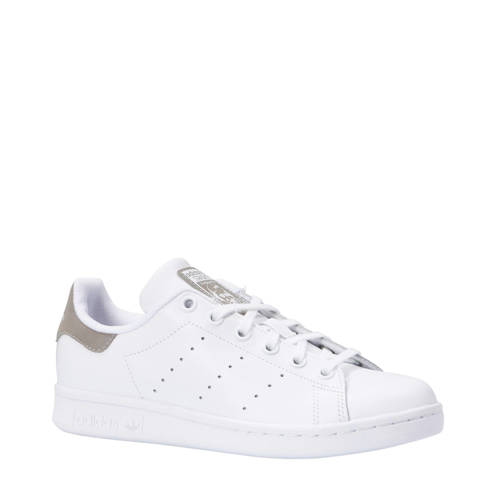 adidas originals Stan Smith J sneakers wit/grijs kopen