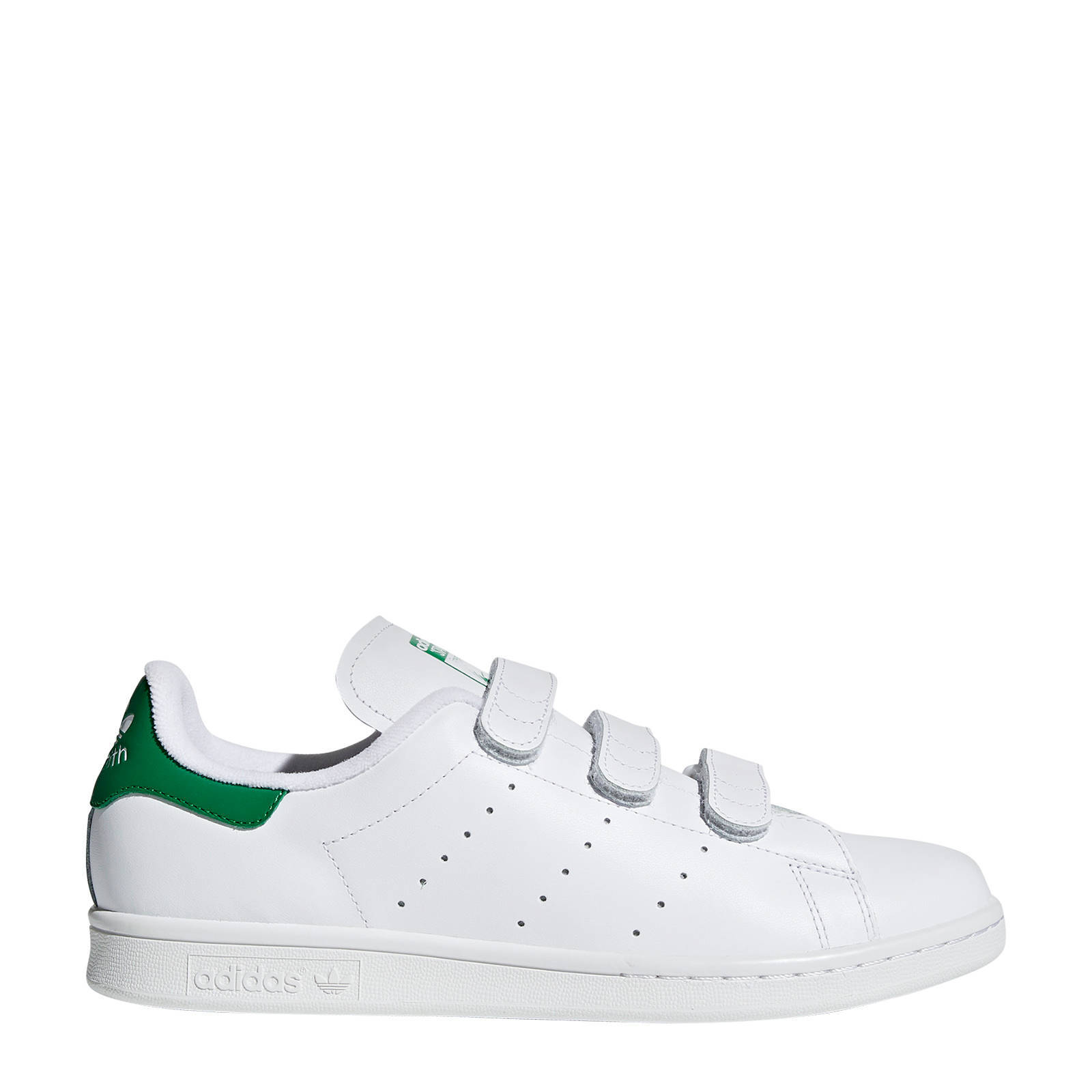 adidas Originals Stan Smith CF leren sneakers witgroen