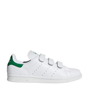 Stan Smith CF leren sneakers wit/groen