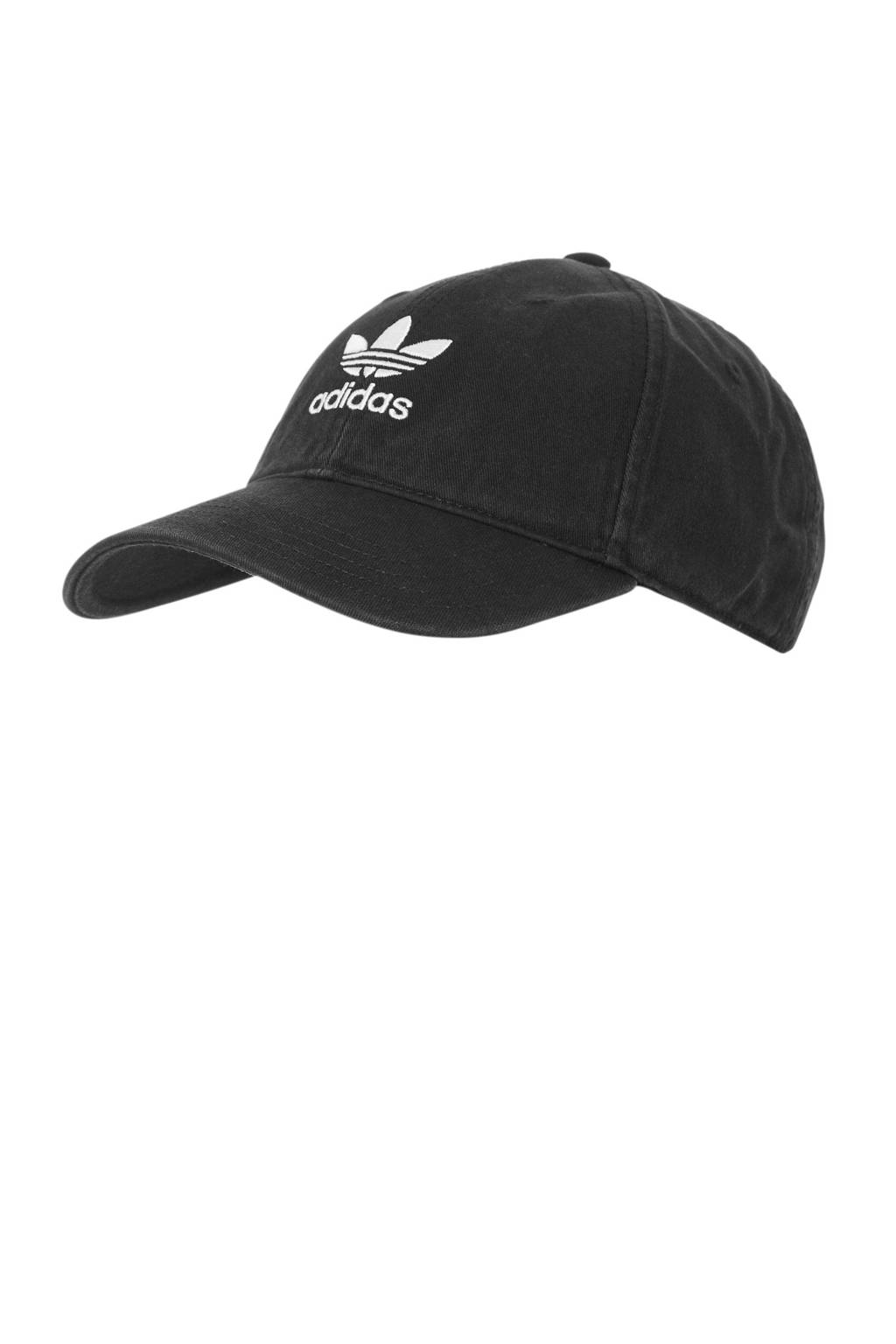 adidas originals Adic washed cap zwart, Zwart