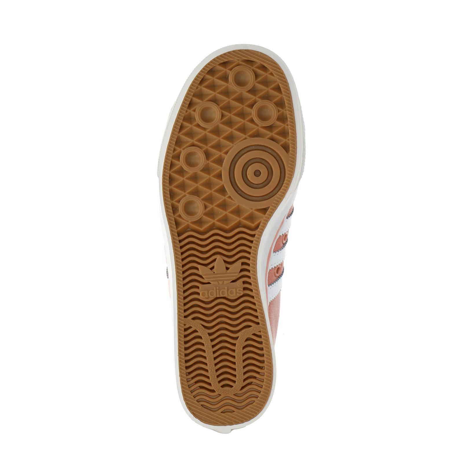 adidas originals Nizza W sneakers zalmroze   wehkamp