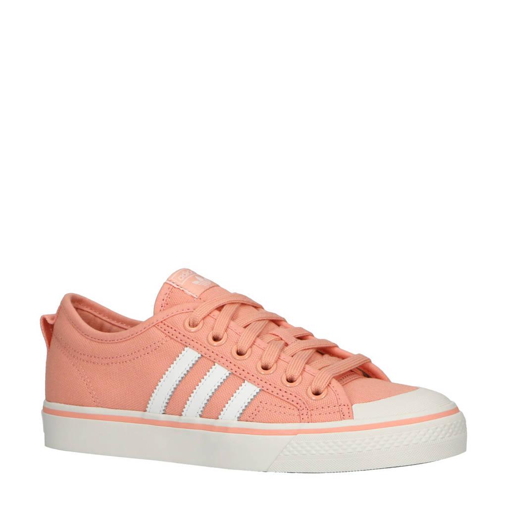 adidas originals  Nizza W sneakers zalmroze, zalmroze/wit