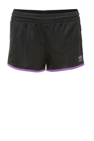 originals sportshort zwart/paars
