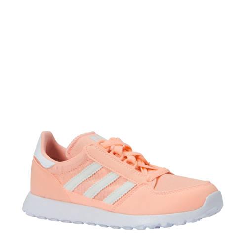 adidas originals Forest Grove CF I suède sneakers oranje