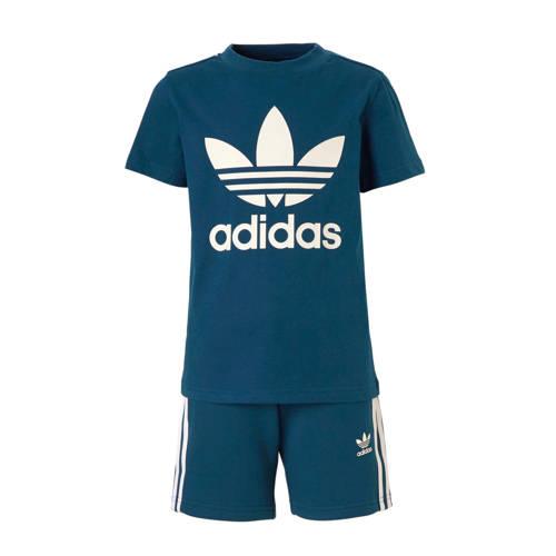 adidas originals originals sportset blauw
