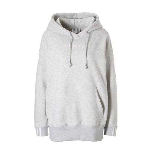 adidas originals hoodie grijs melange