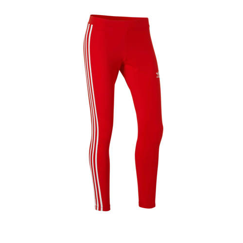 adidas originals 7-8 sportlegging rood