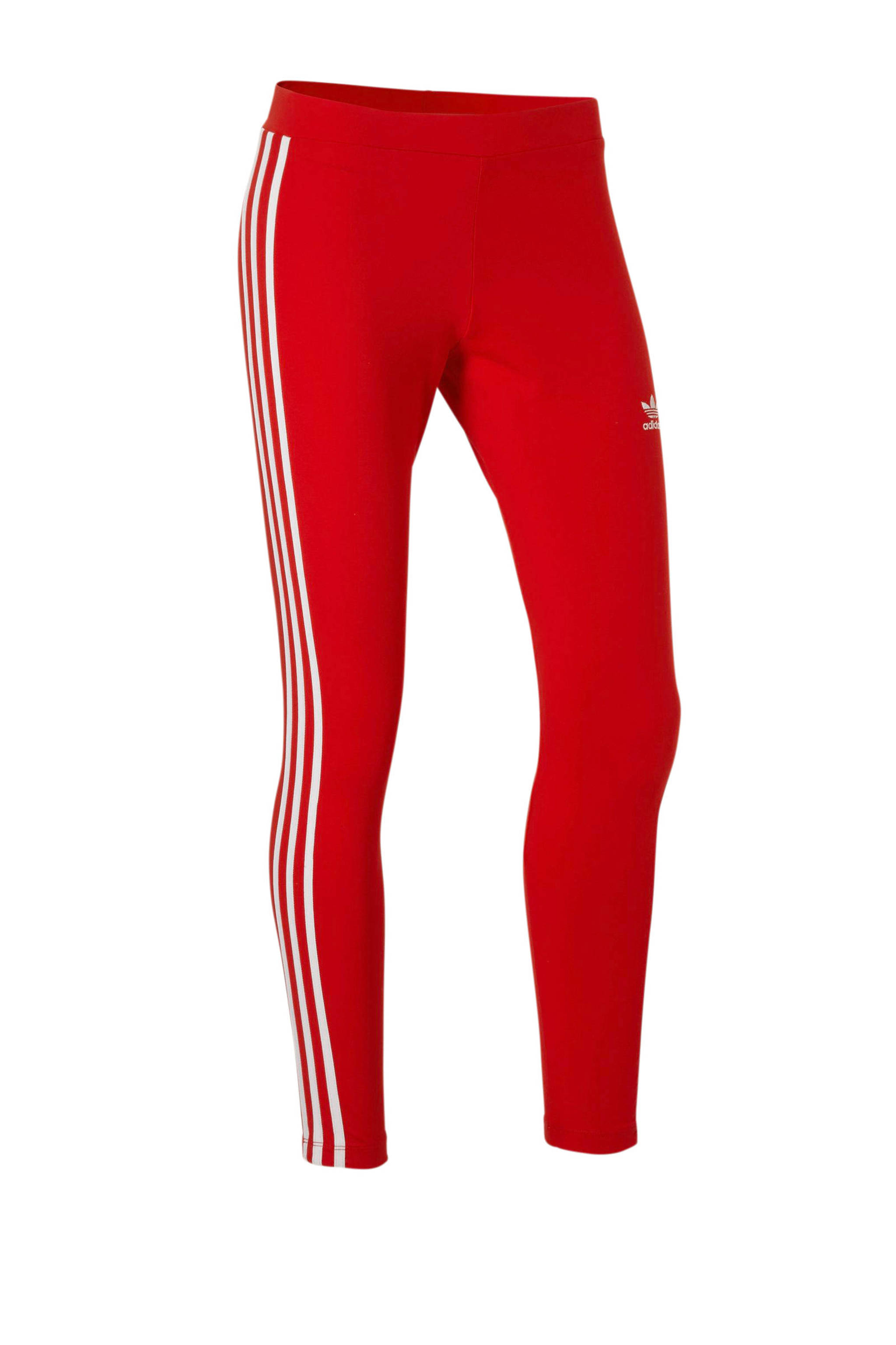 Sportlegging Rood.Adidas Originals 7 8 Sportlegging Rood Wehkamp